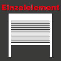 rolladen aus aluminum mit minipanzer. Black Bedroom Furniture Sets. Home Design Ideas
