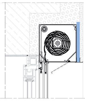 informationen zu rollladen mit putztr ger eckiger rolladenkasten typ imi39 mit. Black Bedroom Furniture Sets. Home Design Ideas